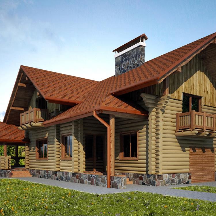 Holzhaus Everest