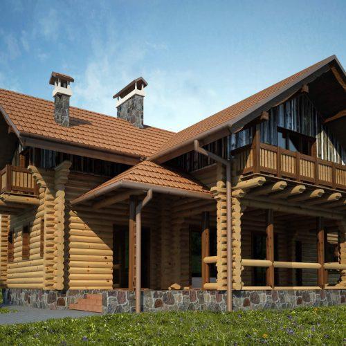 Blockhaus Villa Alexander