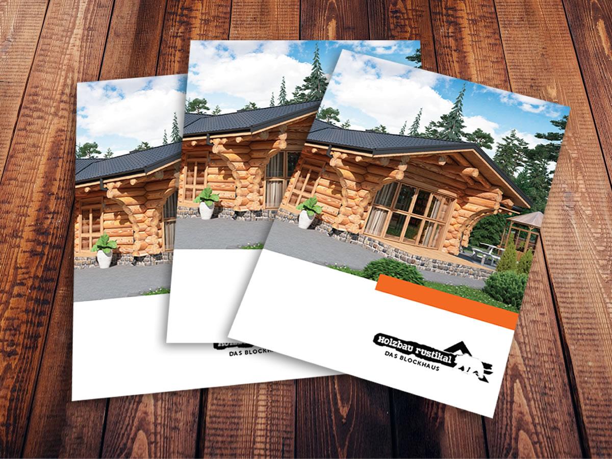 drei Holzhaus Rustikal Kataloge
